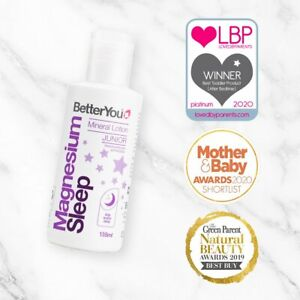 BetterYou Magnesium Sleep Mineral Lotion Junior - 135ml ( Same Day Dispatch )