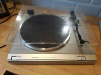 TOSHIBA SR-A25 TURNTABLE record player HiFi audiophile separates Japan silver