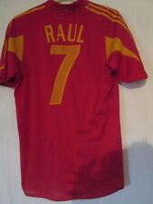 Raúl 7 2004-2006 España Hogar Camiseta De Fútbol Tamaño Mediano/43461