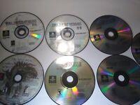 Final Fantasy 7 Disc PS1 Lot FF Origins 1 2 5 6 9 IX V II Anthology Playstation