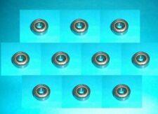 10 estrías campamento bola 6004 rodamientos de bolas ZZ//2z//2zr nuevo