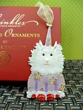 Krinkles Pomeranian Dog Jeweled Ornament Patience Brewster Xmas Dept 56 Nib Ret