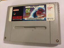 Cool SPOT PAL SUPER NES SNES Juego