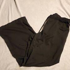 Greys Anayomy Womens Size Large Black Scrub Pants