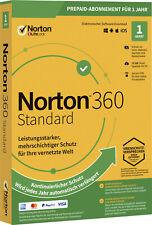 Norton 360 2021 1 Gerät 1 Jahr | PC, Mac | Internet Security DE-Lizenz