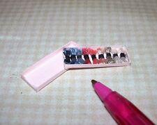 Miniature Boxed Silk Embroidery Thread (#3): DOLLHOUSE Miniatures 1/12 Scale
