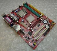 Original Genuine MSI PM8M2-V LGA 775 Motherboard with CPU and BP
