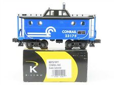 O Gauge K-Line K615-1411 CR Conrail 3-Rail N5C Center Cupola Caboose #23175
