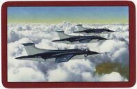 Playing Cards 1 Single Swap Card - Old Vintage RAF BUCCANEER PLANE Military