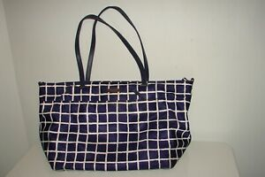 Kate Spade Blue Checkered Diaper Bag Gently Used