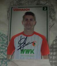 Paul Verhaegh (FC Augsburg 2017/2018) VfL Wolfsburg 2017/18 Holland Abgang rar