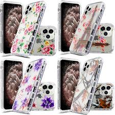 Apple iPhone 11 Pro Max IMPACT Clear TUFF HYBRID Hard Case TPU Candy Phone Cover