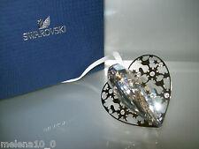 Swarovski De Noël Ornement 2012 cœur crystal moonlight 1140005 Nouveau neuf dans sa boîte