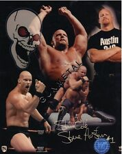Lot of 3 Stone Cold Steve Austin Glossy 8X10 Promo Photos Wrestling WWF WWE SCSA