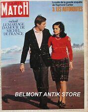 Paris Match n°974 - 1967 - Michel de France - Les autoroutes - Lisbonne -Mirage