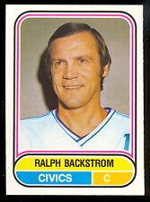 1975 76 OPC O PEE CHEE WHA 23 RALPH BACKSTROM NM OTTAWA CIVICS DENVER SPURS CARD