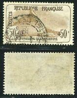 "FRANCE N° 153  "" ORPHELINS  50c + 50c,  LION DE BELFORT  ""  OBLITERES  TB"