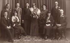 Bradford photo. Wedding Group by R. Sandford Taylor, 118 Manningham La. Bradford