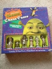 Shrek Delux Chess Game Limited Collectors Edition