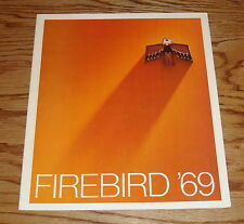 Original 1969 Pontiac Firebird Sales Brochure 69