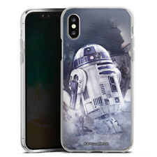 Apple iPhone X Silikon Hülle Case - R2D2 - Star Wars 8