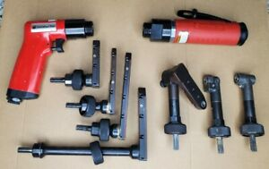 Universal Air UT8892SP-24 Palm Drill and UT8891-33 Angle Drill and Attachments