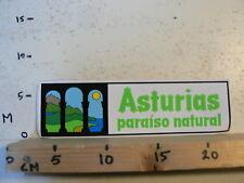 STICKER,DECAL LARGE STICKER ASTURIAS PARAISO NATURAL 24 CM A