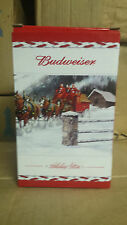 THREE NEW 2009  2010  2011  BUDWEISER bud CHRISTMAS HOLIDAY STEINS combo set lot