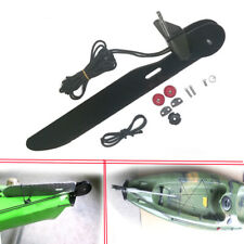 Aluminum Alloy Canoe Kayak Boat Rudder Foot Control Direction Kit