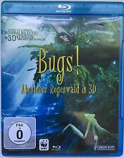 """Bugs! Abenteuer Regenwald"""" in Real 2D + 3D Blu-ray - ohne 3D Brille"""