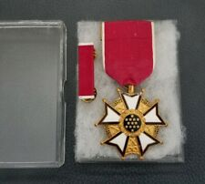 Vintage Legion Of Merit Medal With Ribbon