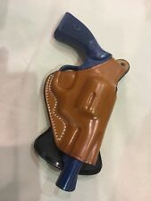 Leather PADDLE Holster for S&W K Frame REVOLVER  (#3212 BRN)