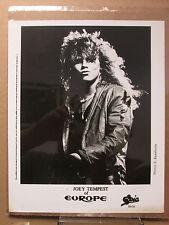 Joey Tempest of Europe 8x10 photo movie stills print #1488