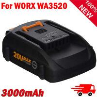 3.0Ah WA3520 For WORX WA3575 WA3525 WG160 20V Max Lithium 3000mAh Battery WG545