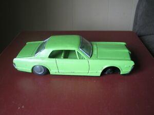"Vintage Tin Toy 1960's  Mercury Cougar Friction Car by Bandi, 10"""