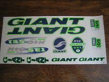 Giant Stickers Dark-Blue, Green & Silver.  XTC SE1