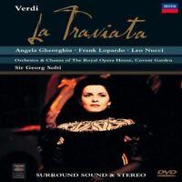 Verdi - La Traviata / Gheorg Solti (DVD) Dh Nuovo DVD