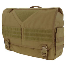Condor Scythe Laptop Carry Travel Messenger Army Shoulder Bag Luggage Tan