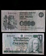 Scotland 2x1 pound CIRCULATED