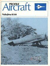 Nakajima Ki-84 Hayabusa ... Profile Aircraft No. 70 Scale Drawings1982