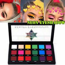 18 Color Neon Eye Shadow Palette Matte Glitter Makeup Shimmer Eyeshadow Cosmetic