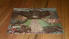 Vintage The Duke Gardens Somerville New Jersey English Garden postcard Dexter NJ