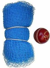 30Feet X 10Feet Nylon Cricket Practice Net with 1 Leather Ball 2 Part Side