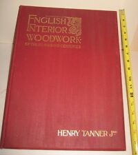 "ENGLISH Interior WOODWORK 16th-18th c. 50 LRG 17 X 13"" PLATES CASTLES com @ $500"
