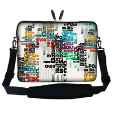"15.6"" Laptop Computer Sleeve Case Bag w Hidden Handle & Shoulder Strap 2820"