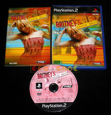 BRITNEY'S DANCE BEAT Ps2 Versione Europea »»»»» COMPLETO