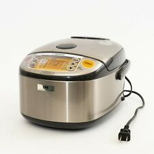 Zojirushi NP-HCC10 Rice Cooker & Warmer 5.5 Cups Uncooked Induction Heating