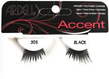 Ardell Fashion Lashes ACCENT #305 Eyelashes Black 10 pack