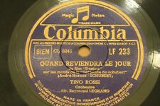 ♪ TINO ROSSI ♪ Disque 78 tours N° 78-368