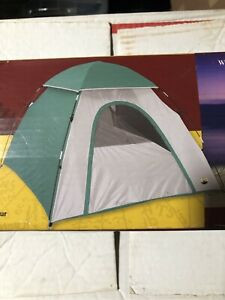 """Stansport 2 Man Dome Tent With Rainfly -  5'6""""X6'6""""X43""""H  (KVSPM2466R1119)"""